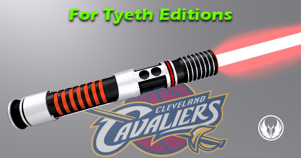 Cleveland Cavs Lightsaber – Another NBA Sports Themed Saber