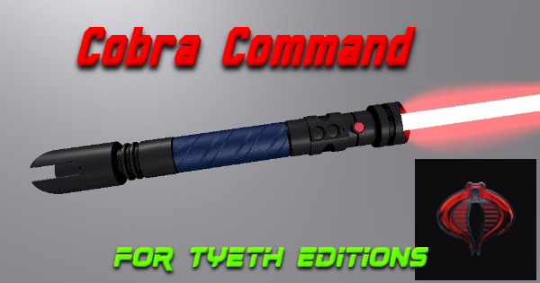 Cobra Command Lightsaber – Cobra's Kyber Weapon