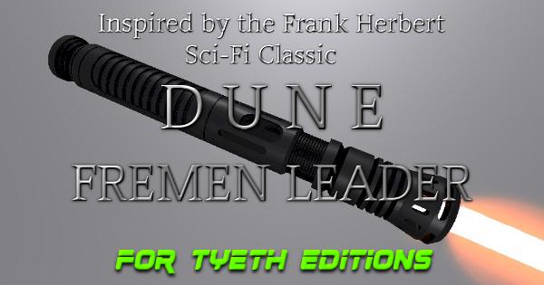 Fremen Leader Lightsaber – Inspired by a Frank Herbert Classic