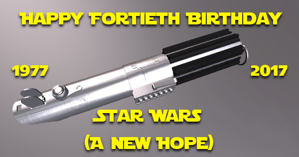Happy Birthday Star Wars – Happy For-Tyeth!