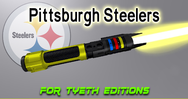 """Pittsburgh Steeler Saber – Tribute to the """"Steeler Nation"""""""