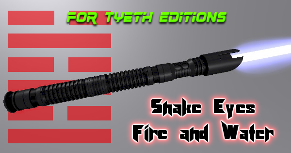 Snake Eyes Fire and Water Lightsaber – A Ninja's Lightsaber