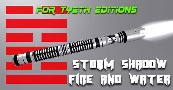 Storm Shadow Fire and Water – Another Ninja's Lightsaber