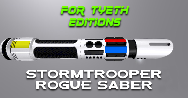 Stormtrooper Rogue Saber – Lightsaber for the Rogue Generation