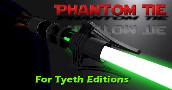 Phantom Tie Lightsaber – Based on the V38 Tie Phantom