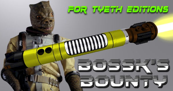 Bounty Lightsaber – Bossk's Bounty