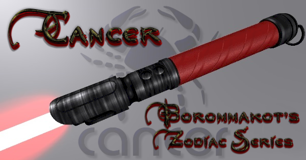 Cancer Lightsaber – Borommakot's Zodiac Series