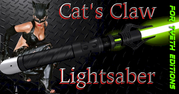 Cat's Claw Lightsaber – A Saber for Selina Kyle