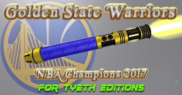 Golden Warrior Lightsaber – Gold Edition