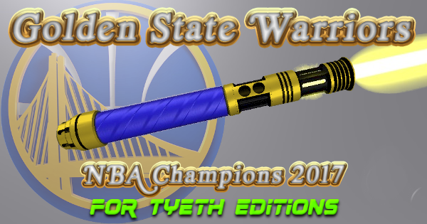 Golden Warrior Lightsaber – Gold Edition