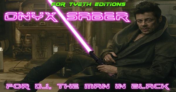 "Onyx Saber – For ""DJ"" the Man In Black"