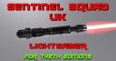Sentinel Squad UK Title Plate