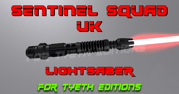 Sentinel Squad UK Lightsaber – Tribute for a special Cosplay Troop