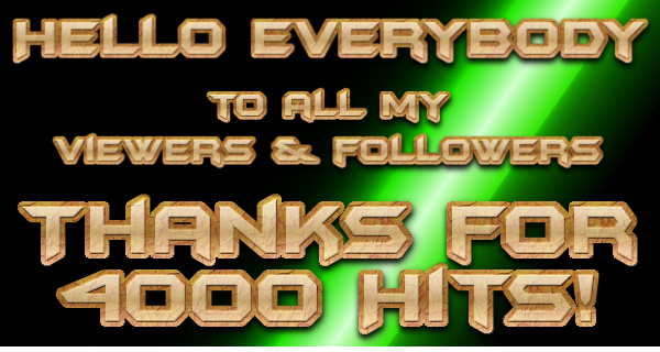 Thank You Everybody! A Milestone Reached.
