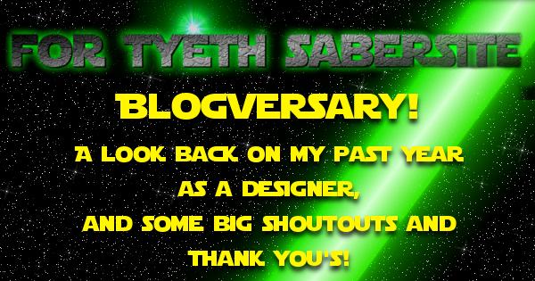 Blogversary Celebration!