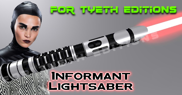 Informant Lightsaber for Bazine Netal