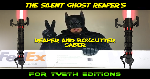 Reaper and Boxcutter Sabers – for The Silent Ghost Reaper