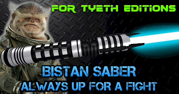Bistan Saber – Always up for a Fight
