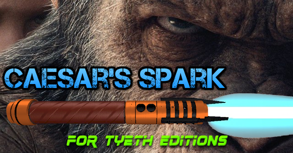 Caesar's Spark Lightsaber – Inspired by Caesar the Ape