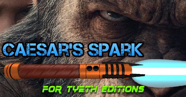 Caesar's Spark Lightsaber – Inspired by Caesar the Ape