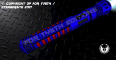 Bloodstripe Lightsaber Body