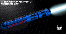 Bloodstripe Lightsaber