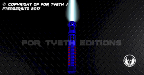 Bloodstripe Lightsaber Vertical Up