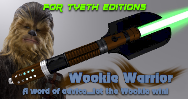 Wookie Warrior Lightsaber – A Saber for Chewbacca