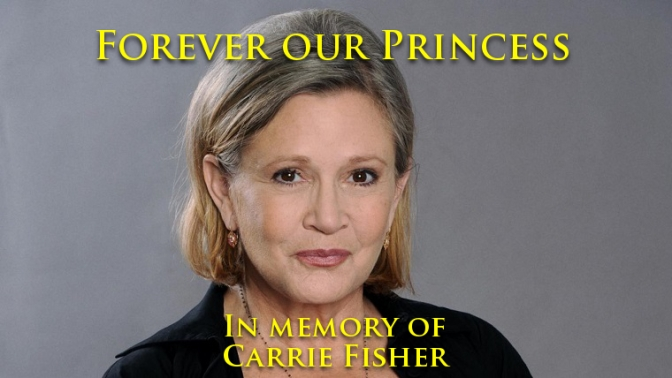 Remembering Carrie Fisher – Can it really be a year?