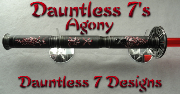 Dauntless 7's Agony Lightsaber