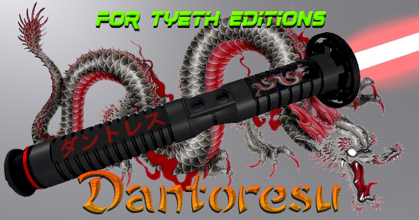Dantoresu Lightsaber – Inspired by Dauntless 7
