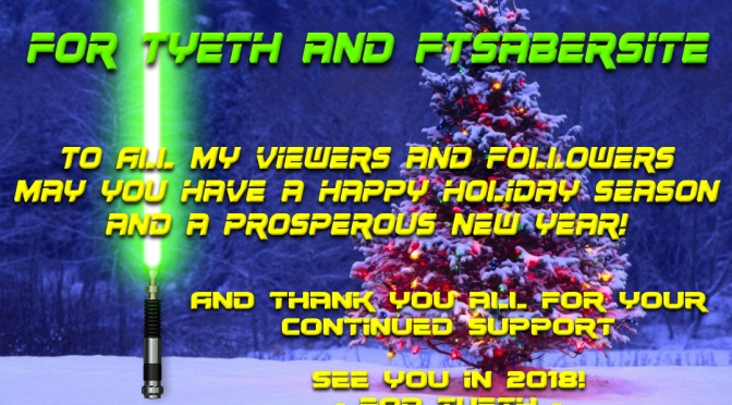 Happy Holidays To You All!