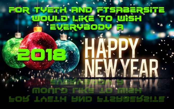Happy New Year from For Tyeth and FTSabersite + SOTY!