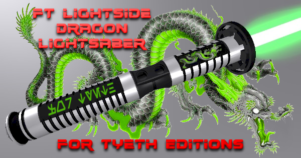 FT's Lightside Dragon Lightsaber