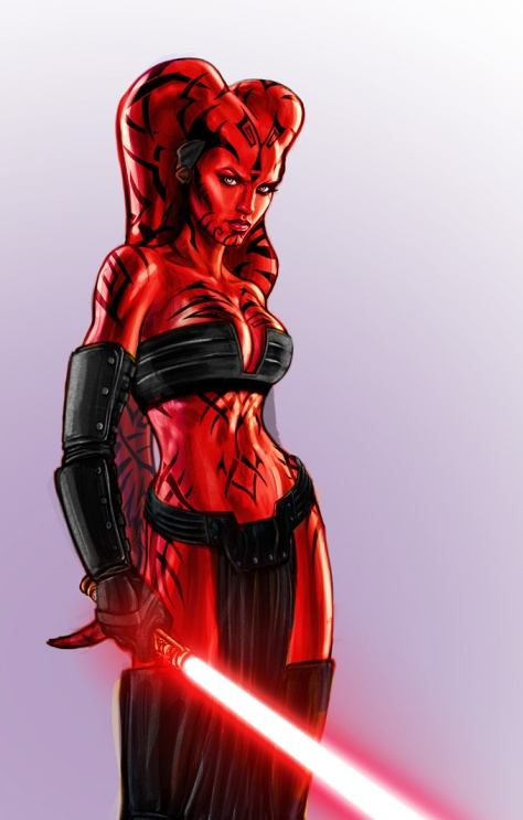 Darth Talon Illustration