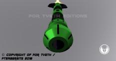 Hulking Lightsaber Pommel 2
