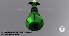 Hulking Lightsaber Pommel 2