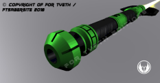 Hulking Lightsaber Pommel