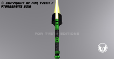 Hulking Lightsaber Vertical Up