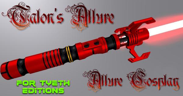 Talon's Allure Saber – For Allure Cosplay