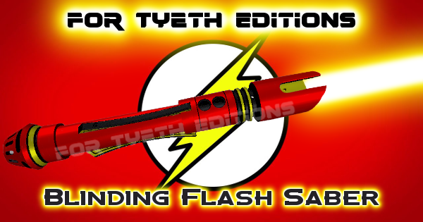Blinding Flash Saber- A saber for Barry Allen