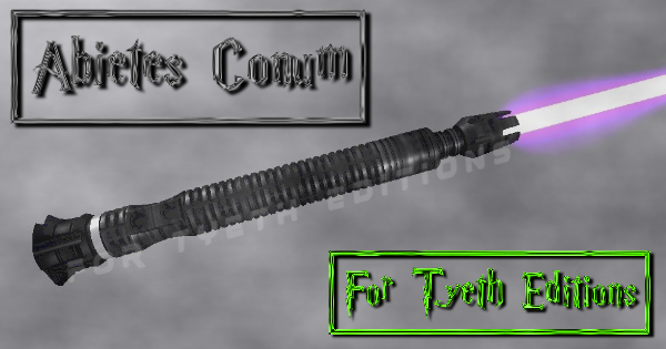 Abietes Conum Lightsaber – Recast!