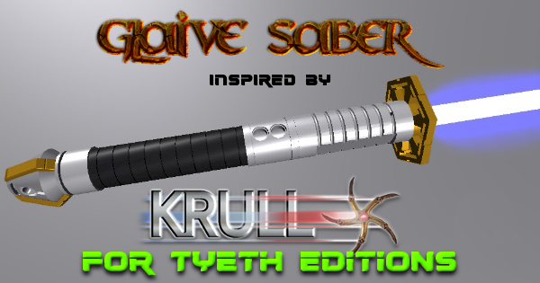 Glaive Saber – Inspired by Krull