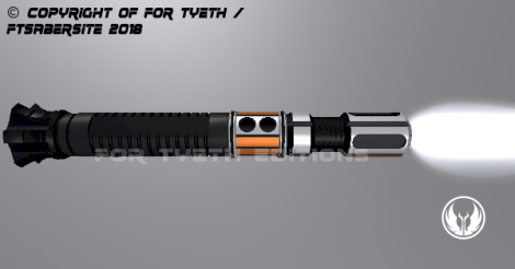 Porg Lightsaber Horizontal