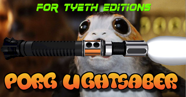 Porg Lightsaber – Inspired by Ach-To's cutest creatures