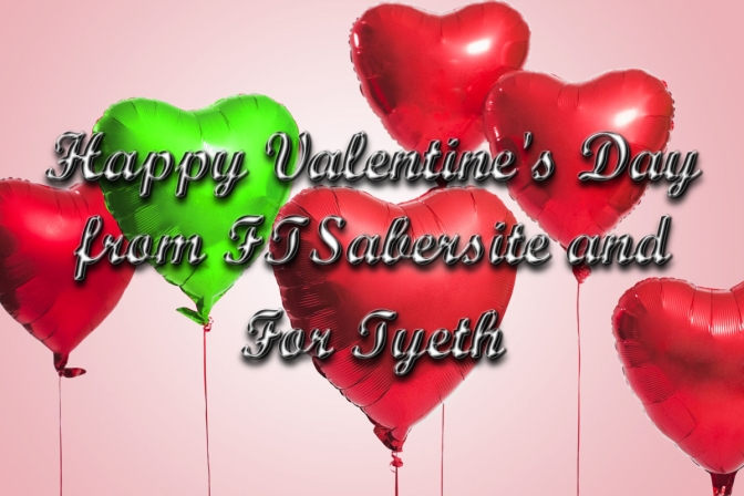 Happy Valentine's Day from For Tyeth