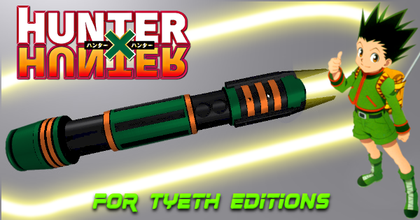 Anime Hunter Lightsaber – Inspired by Hunter x Hunter