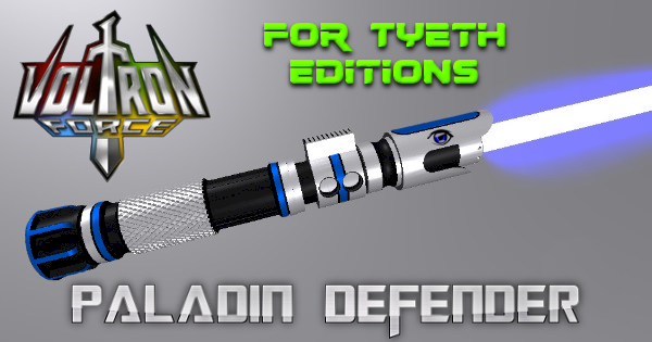 Paladin Defender Lightsaber – Inspired by Voltron Legendary Defenders
