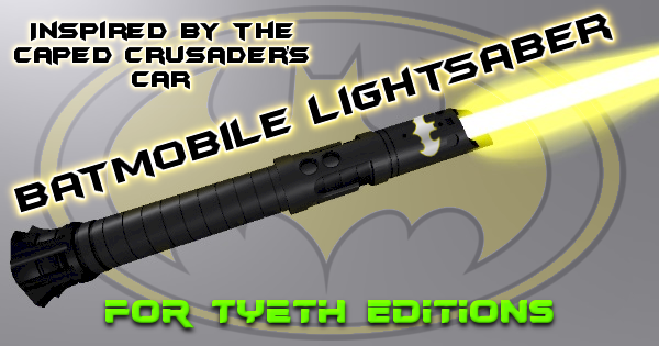 Batmobile Lightsaber – Inspired by the Caped Crusader's Car