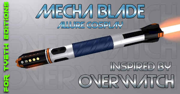 MechaBlade – Inspired by Overwatch and Allure Cosplay
